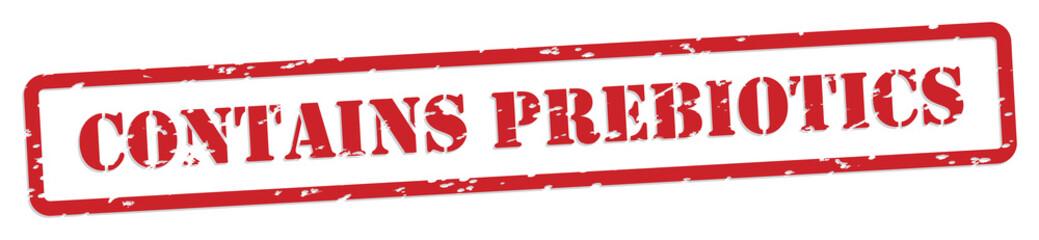 Prebiotics Rubber Stamp