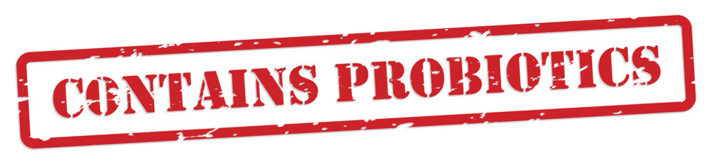 Probiotics Rubber Stamp