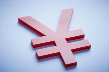 Red Yen symbols