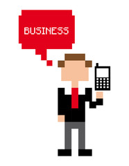 business pixel design