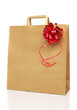 Recycle shopping brown bag