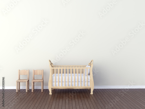 Interior of nursery