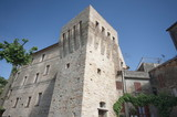 Acquaviva Picena, tower outside the walls