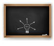 Vector cluster on blackboard - New idea