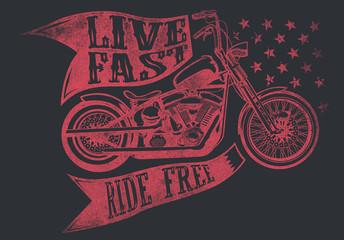 Bike race © Tshirt-Factory.com