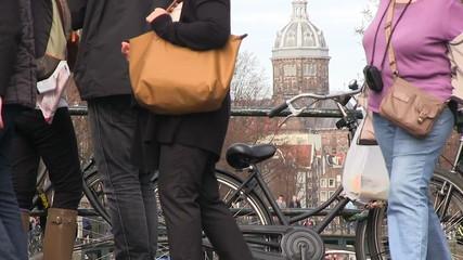 urban scenic in Amsterdam