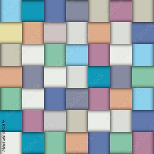 Tapeta Multicolored paper lattice