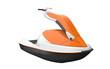 Jet Ski Isolated on White Background - 53004269