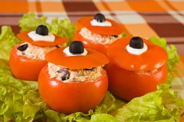 farci tomato salad