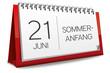 Kalender 2013 Sommeranfang Sommer Anfang Sonne