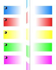 colori riflessi