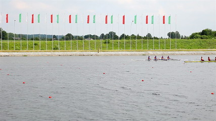 competition in rowing.
