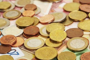 Geld, Nahaufnahme, 10 Cent