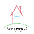 Vector Logo house project