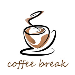 Vector Logo coffee break