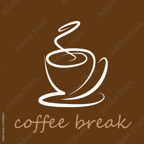 Vector Logo coffee break