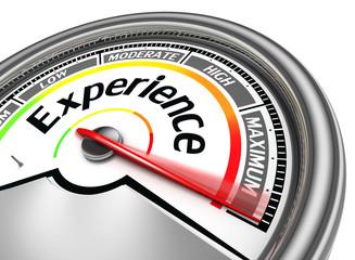 experience conceptual meter