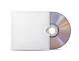 Compact disk with cover.