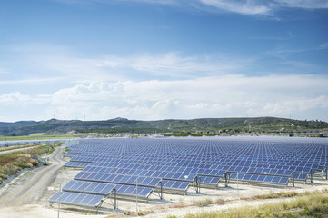 Renewable resorce: Solar - production of natural energy