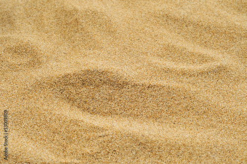 canvas print picture sand of a beach or a desert or a sandpit