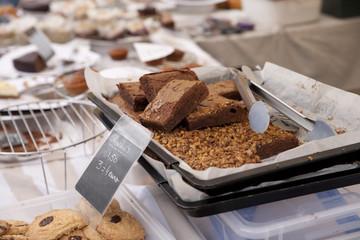 Schokoladen-Blechkuchen