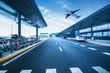 Leinwanddruck Bild - Shanghai Pudong Airport road