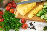 Organic vegetable background