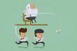 Business man motivation , eps10 vector format