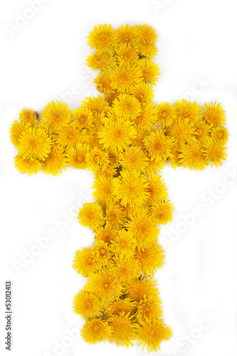 Cross of Flowers