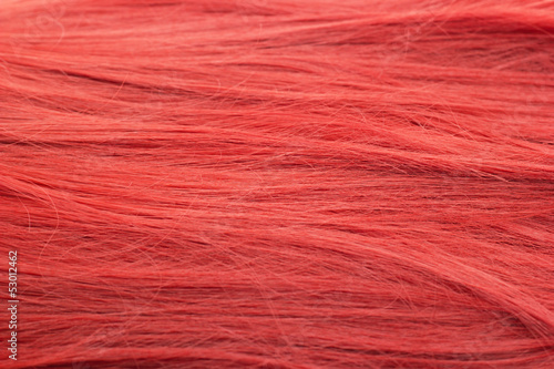 Healthy and beautiful red hair