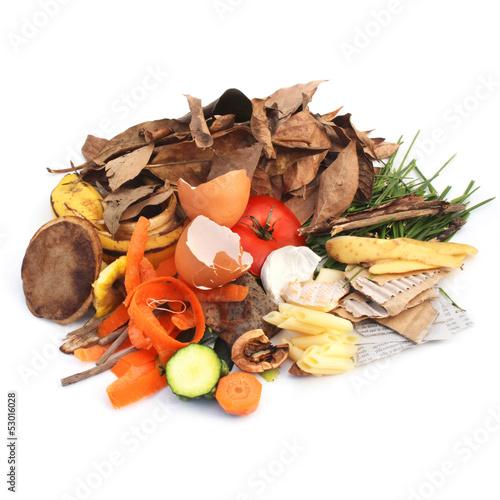 Déchets pour compost