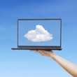 Cloud computing from laptop