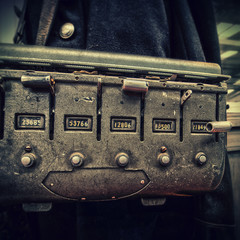 vintage ticket machine