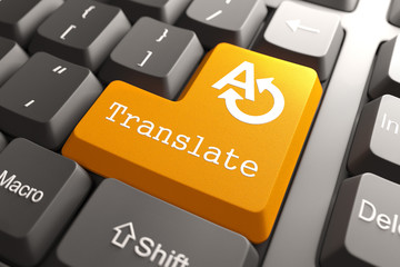 Keyboard with Translate Button.