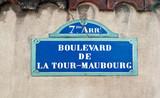 boulevard de la tour maubourg poster