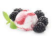 Blackberry Ripple Icecream