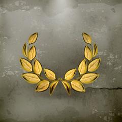 Laurel wreath, award old style