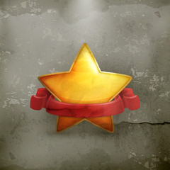 Star, award old style