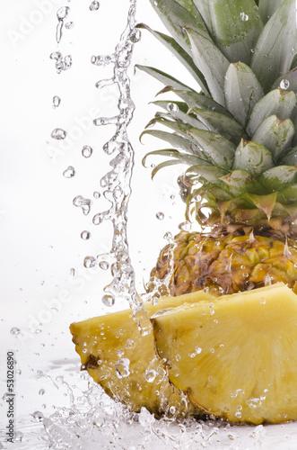 Fototapeten,ananas,obst,exotisch,frisch