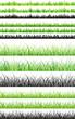 Seamless grass set