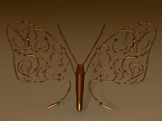 Steampunk Schmetterling