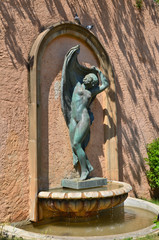 Danzarina del escultor Antonio Alsina. Montjuic. Barcelona