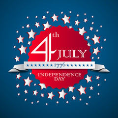 Vector independence day background