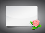 flower template illustration design