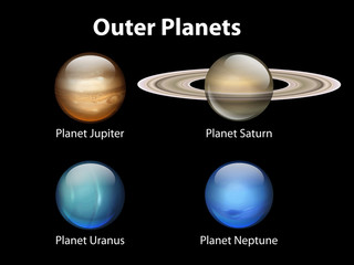 Outer planets