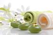 Wellness Grün Magnolie Kerzen