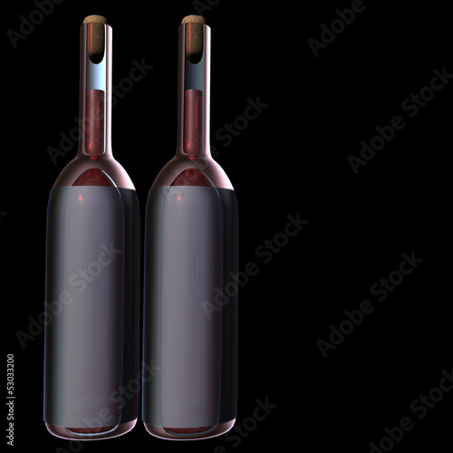 Wine bottle for adv or others purpose use