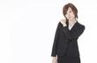 businesswoman suffering from shoulder stiffness