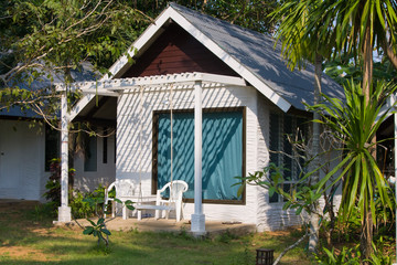 Tropical beach house, Thailand