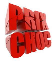 """Prix choc"" sur fond blanc 1"
